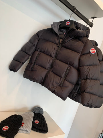Colmar Black Hooded Winter Jacket