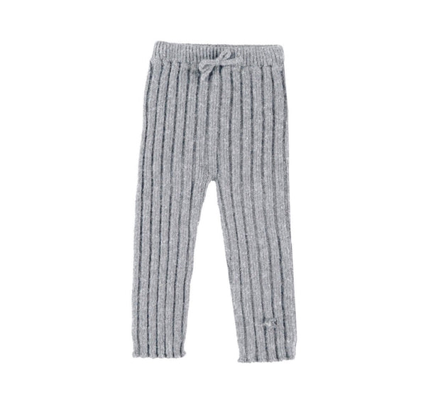 Tocoto Vintage Grey Baby Knitted Leggings