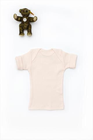 Flora and Henri Basic Short Sleeve Lap Tee Blossom