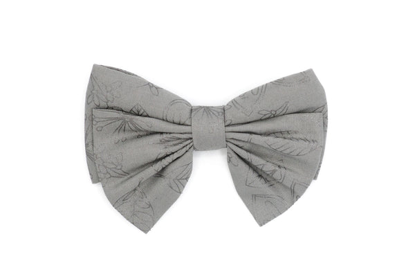 Arbii Oversized Bowtie Cloudy Sketch