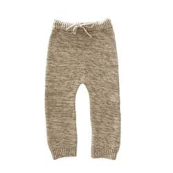 Liilu Natural Chocolate Knit Trouser