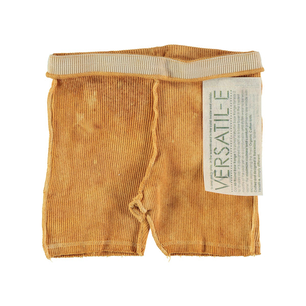 Versatile Textura Earth Ribbed Shorts