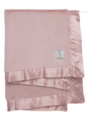 Little Giraffe Luxe Solid Dusty Pink Baby Blanket