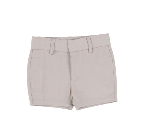 Lil Legs Taupe Dress Shorts