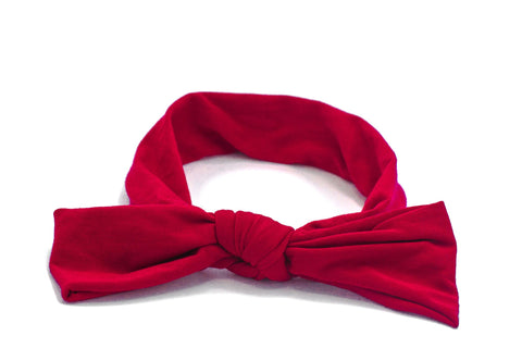 Arbii Floppy Bow Red