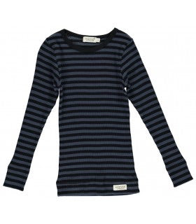 MarMar Copenhagen Black & Blue Stripe Modal PJ Set