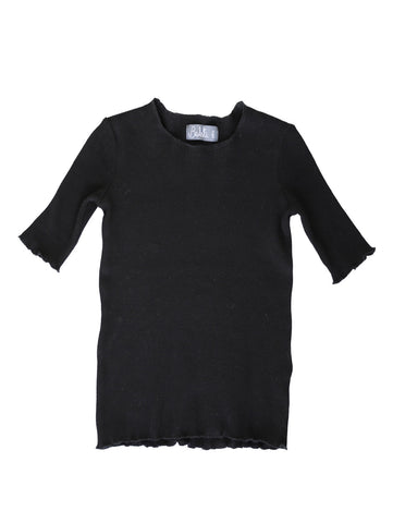 Belati Basic Girls Black Top