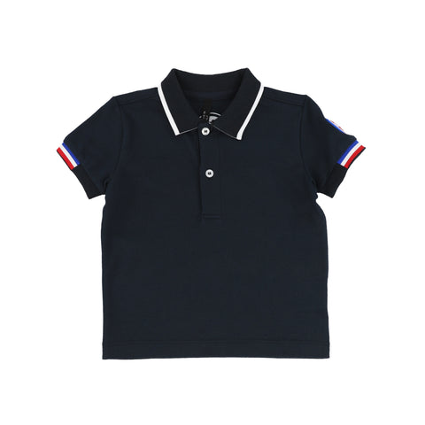 Colmar Blue & Navy Trim Polo