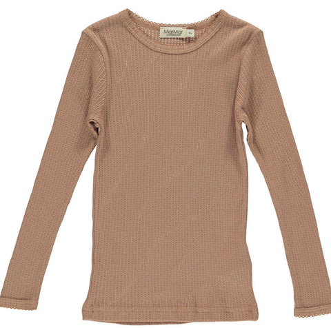 Marmar Copenahagen Rose Blush Pointelle T-Shirt
