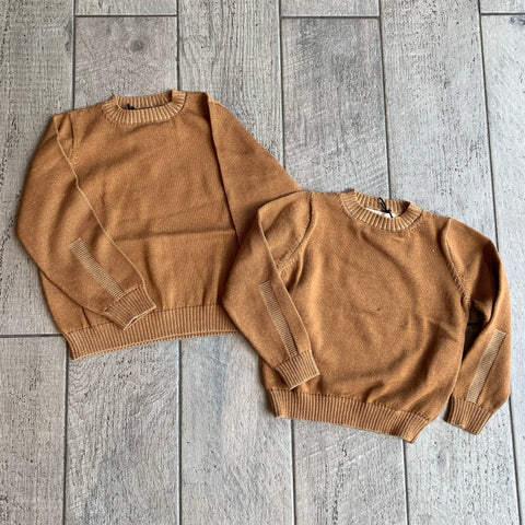 KNIT Camel Mix Sweater