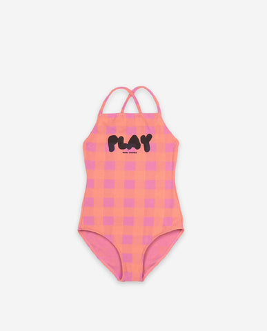 Bobo Play Vichy Swimsuit