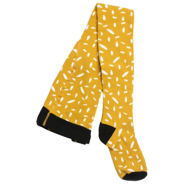 Motoreta Socks Yellow Dot White