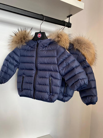 Colmar Navy Hooded Baby Winter Jacket