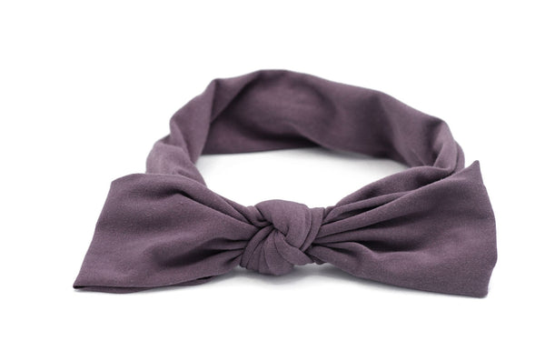 Arbii Floppy Bow Purple