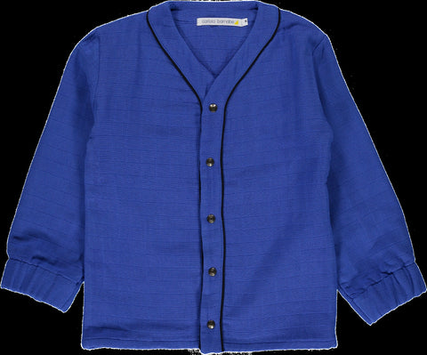 Carlota Barnabe Electric Blue Baby Shirt