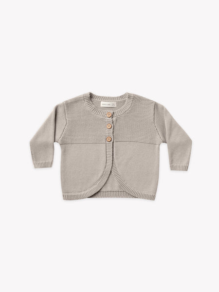 Quincy Mae Fog Knit Cardigan
