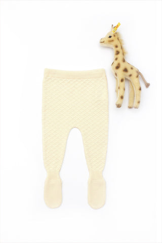 Flora and Henri Natural Organic Nino Leggings Footed