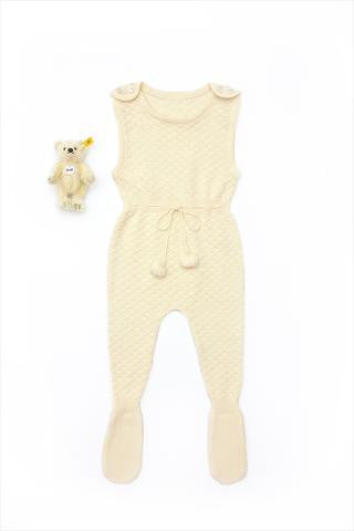Flora and Henri Natural Organic Cotton Nino Romper