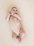 Quincy Mae Rose Pointelle Tank Onesie