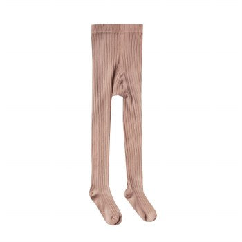 Rylee & Cru Truffle Ribbed Tights