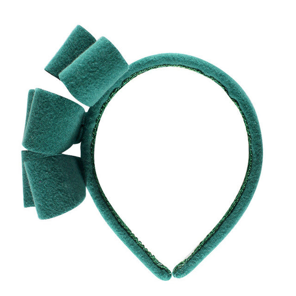 Halo Luxe Clara Headband Emerald
