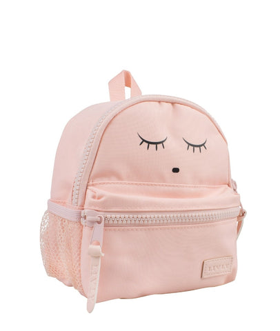 Livly Stockholm Pink Sleeping Cutie Mini Backpack