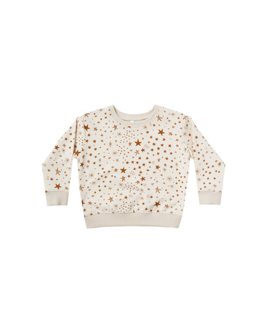 Rylee & Cru Natural Starburst Sweatshirt Set