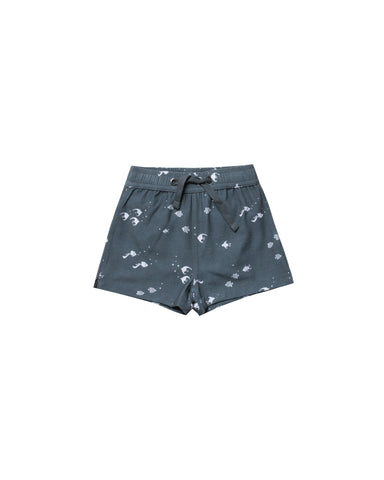 Rylee & Cru Angel Fish Swim Trunks