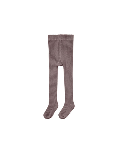 Rylee & Cru Wine Rib Knit Tights