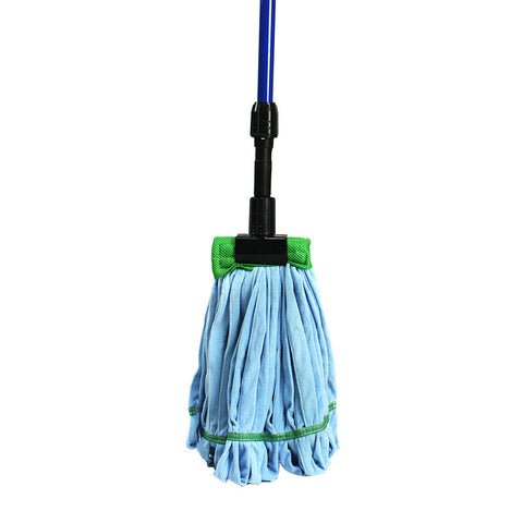 Microfiber Wet Mop & Gripper Mop Handle