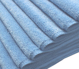 Microfiber Terry Cloth Blue (12 pack)