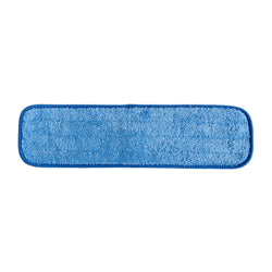 "Wholesalemop 18"" Wet/Dry Microfiber Cleaning Pad (12 pack)"