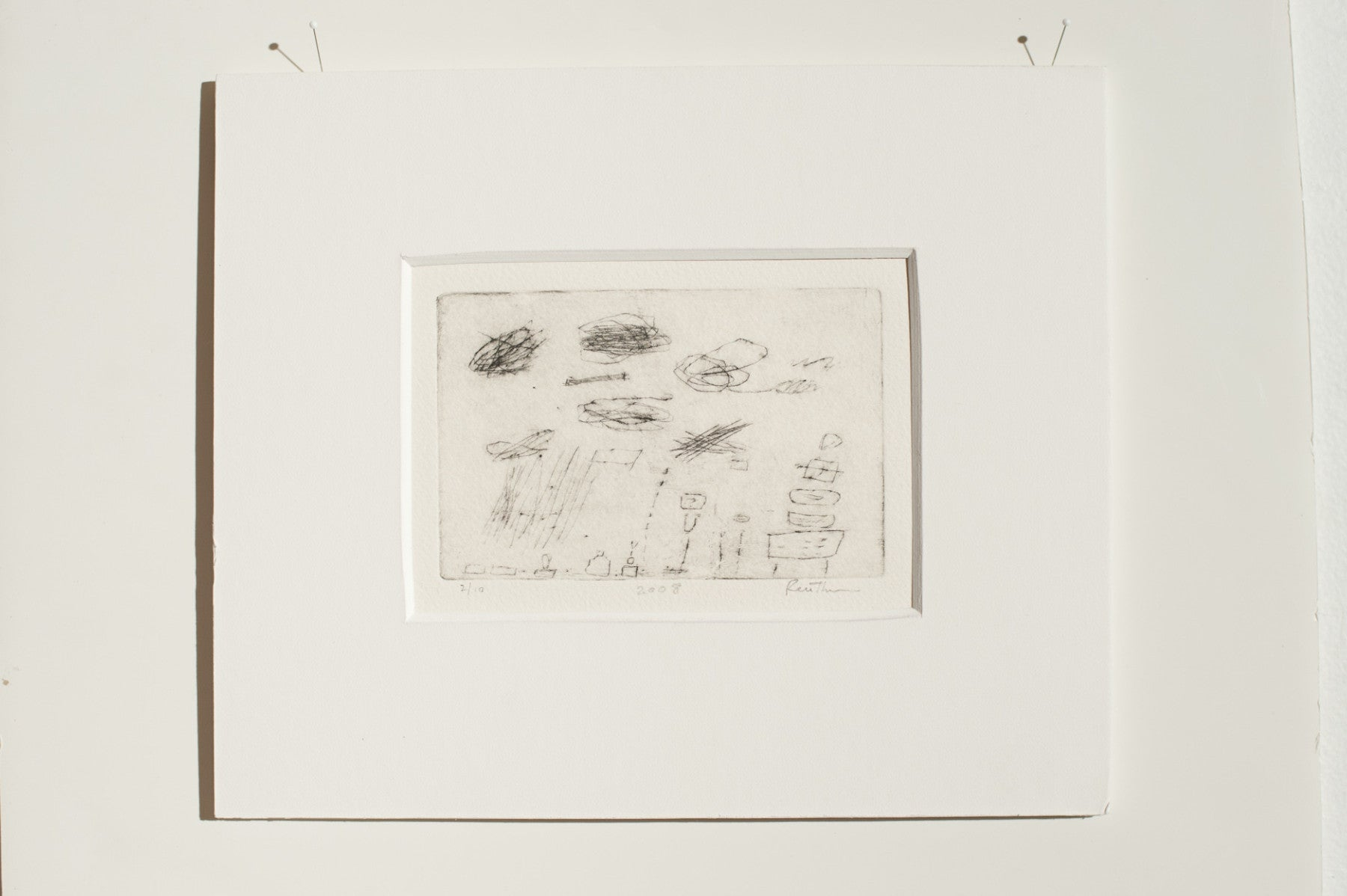 Kit Reuther - Untitled - Etching