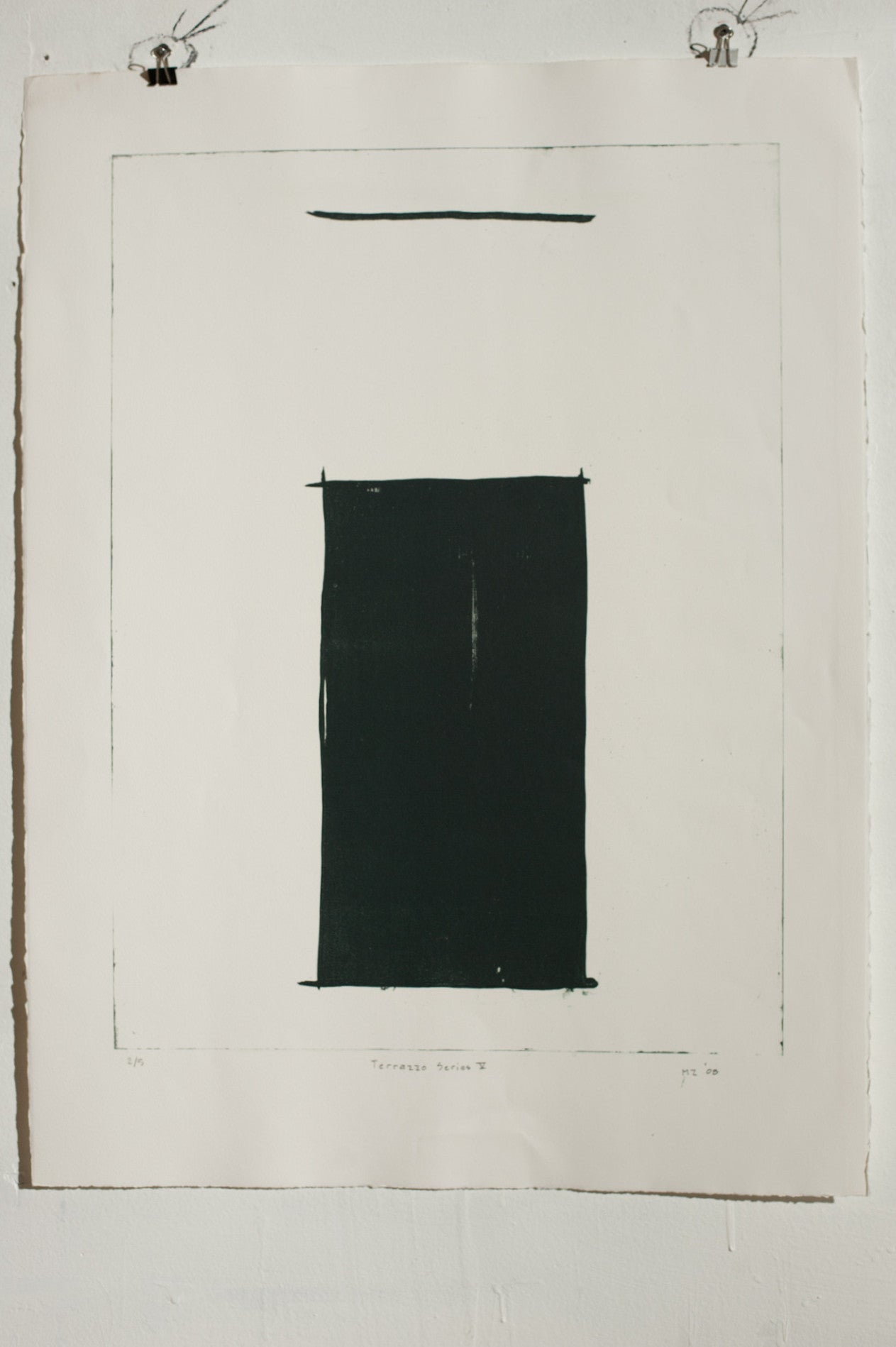 Manuel Zeitlen - Untitled - Lithograph Print on Archival Paper