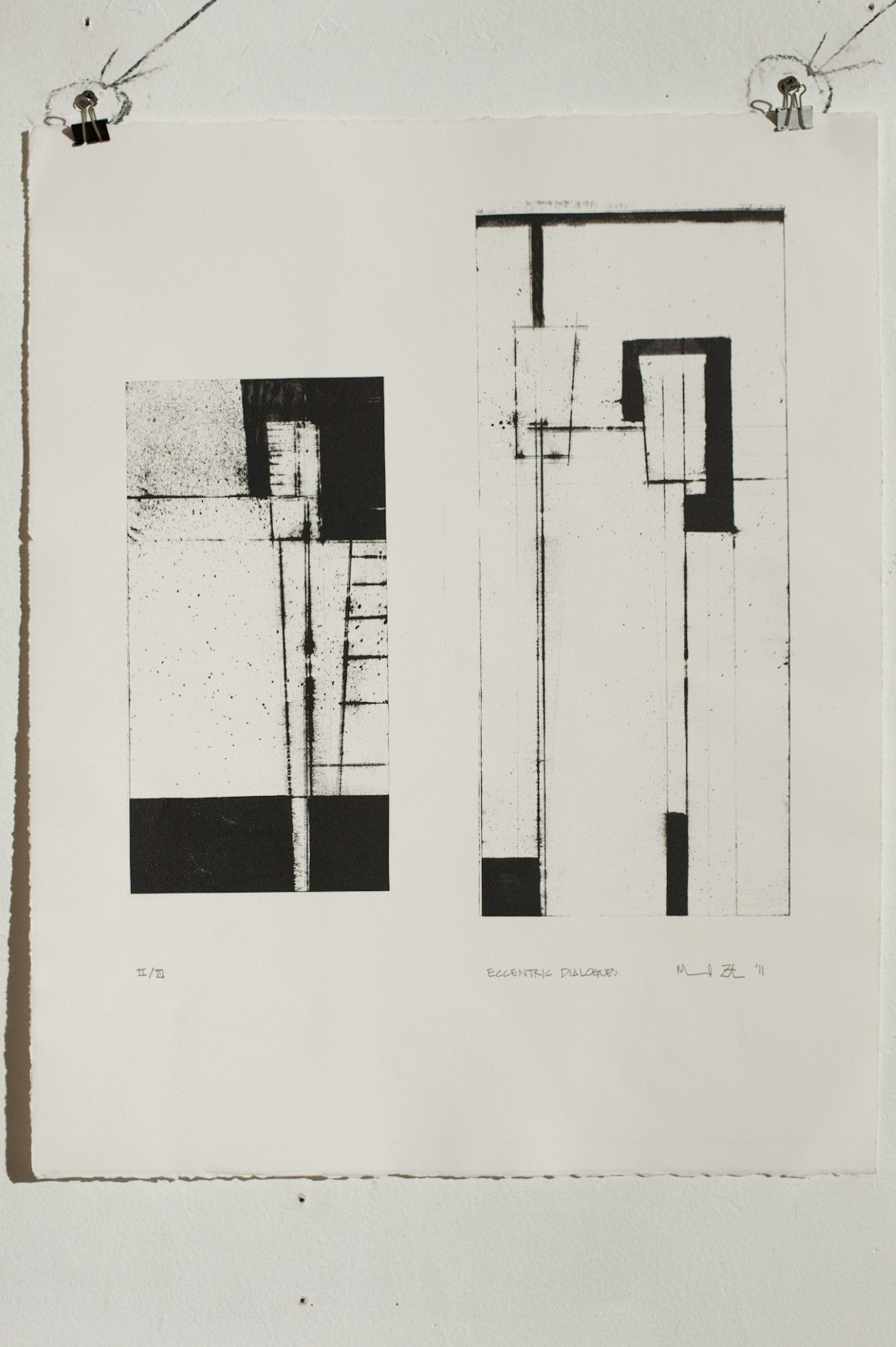 Manuel Zeitlen - Untitled 3 - Lithograph Print on Archival Paper
