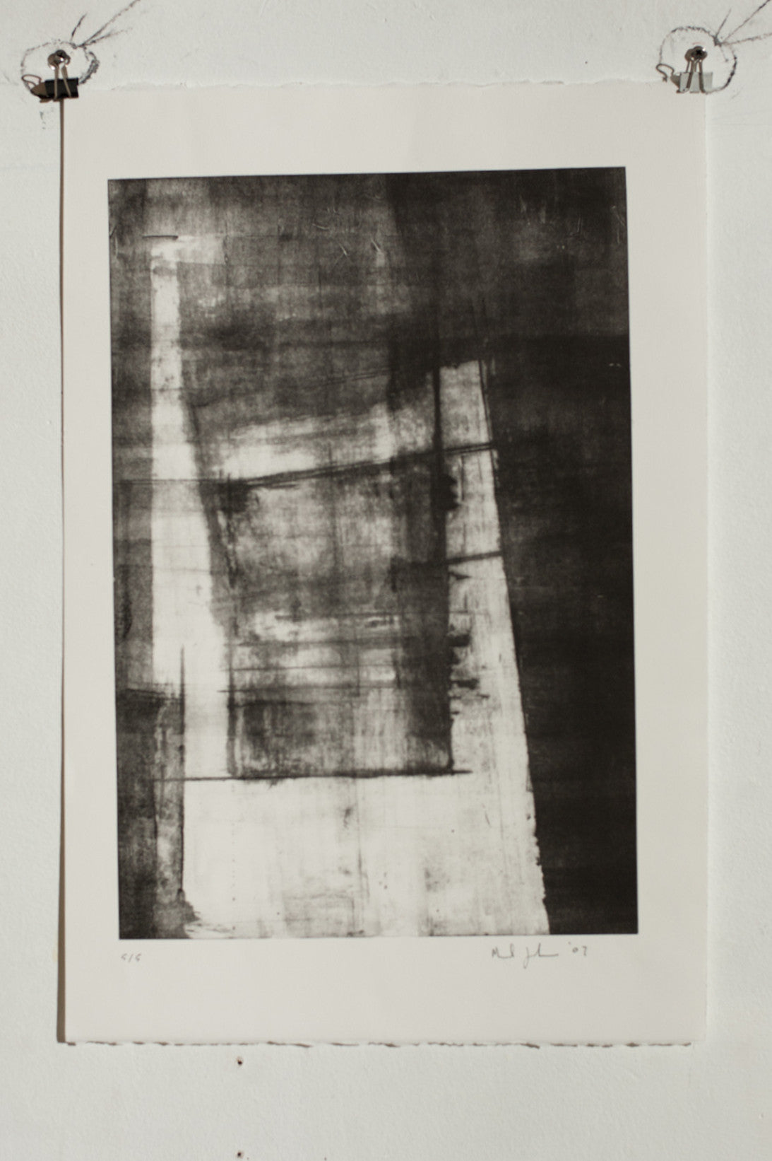 Manuel Zeitlen - Untitled 4 - Lithograph Print on Archival Paper