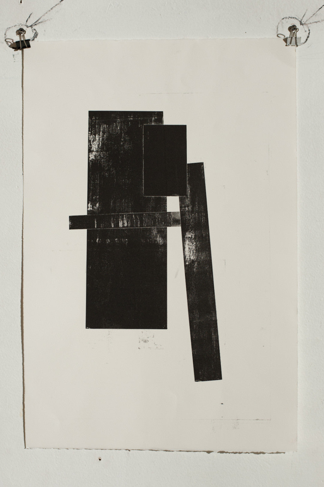 Manuel Zeitlen - Untitled 5 - Lithograph Print on Archival Paper