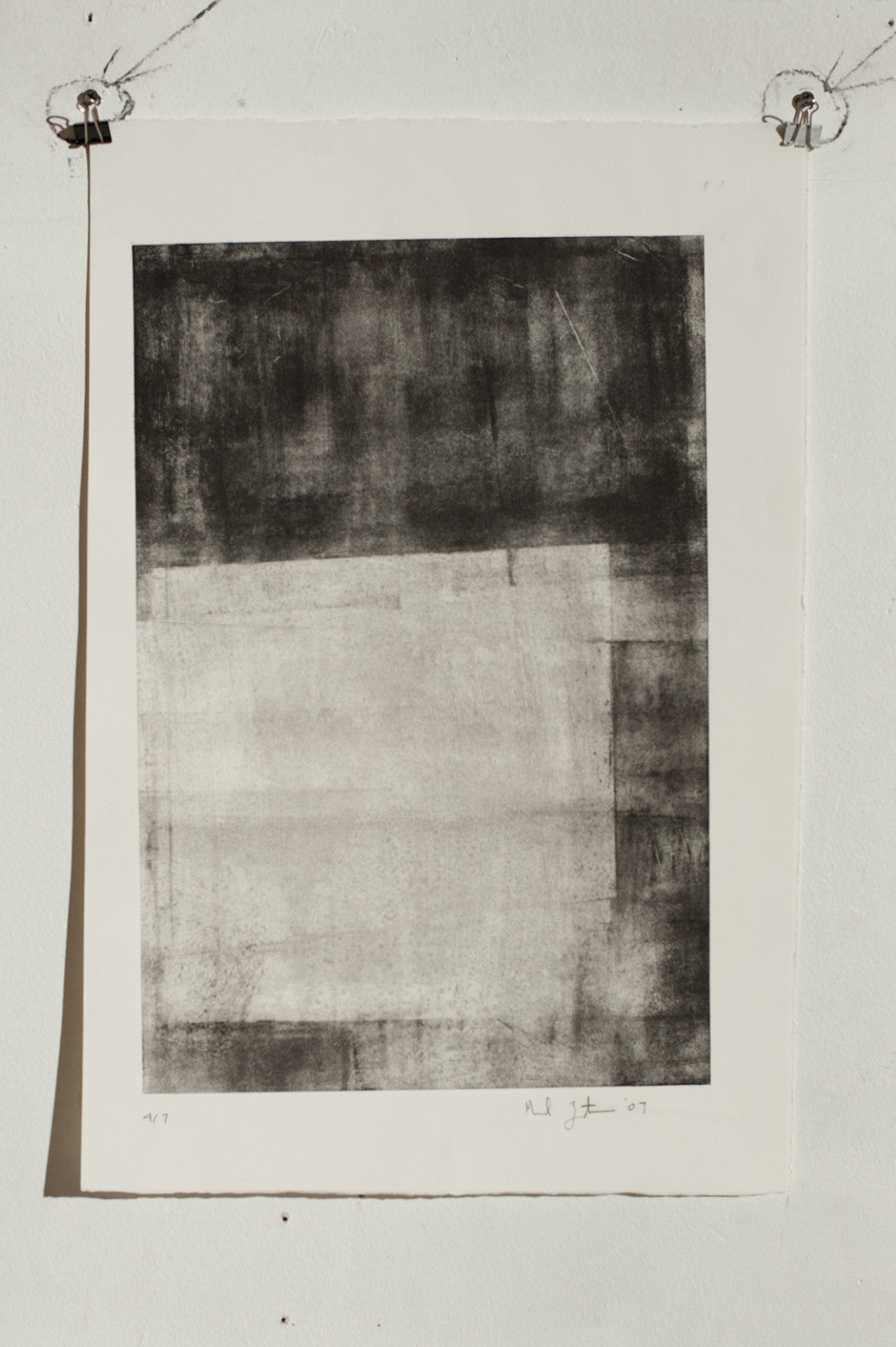 Manuel Zeitlen - Untitled (9) - Lithograph Print on Archival Paper