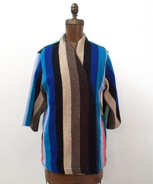 Moonage Daydream - Vintage Blanket Jacket