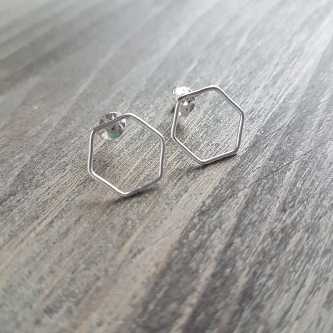 Hexagon Stuf Earring