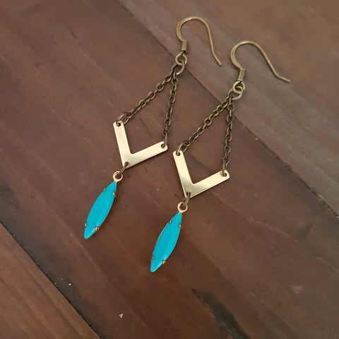 Mermaid Tears Earring