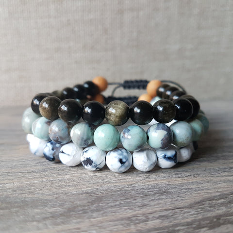 Grounded Bracelet Set