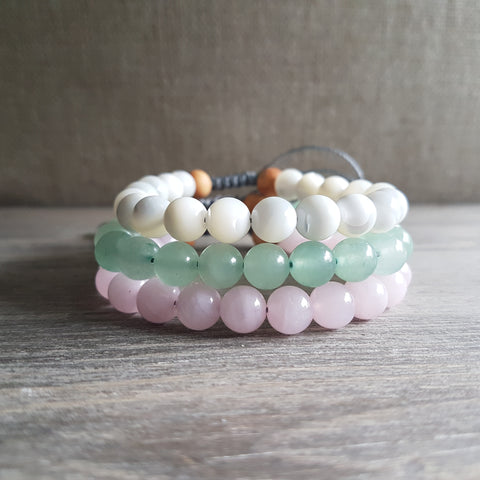 The Nurturer Bracelet Set