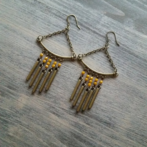 Megan Fringe Earrings