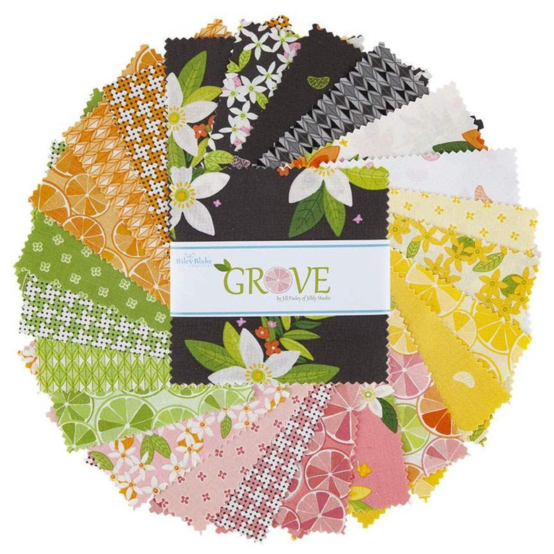 Riley Blake Grove Fat Quarter, 23pcs,  FQ-10140-23