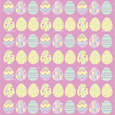 [VECTOR] Happy Easter Pink Pattern