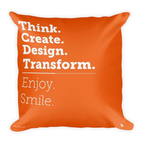 [PILLOW] Think. Create. Design. Transform