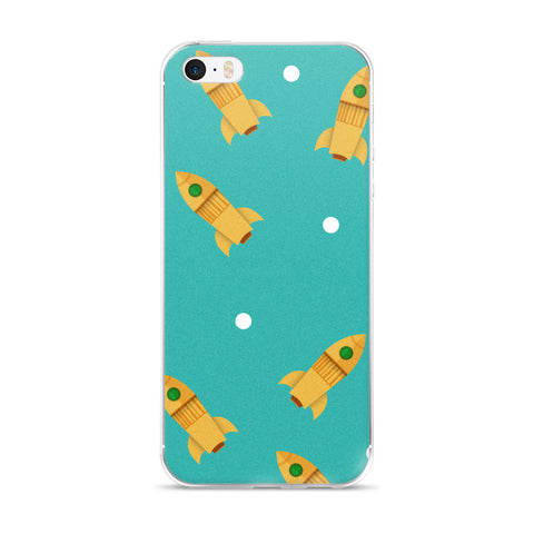 [PHONE CASE] Space Rocket – iPhone 5 to 6s Plus
