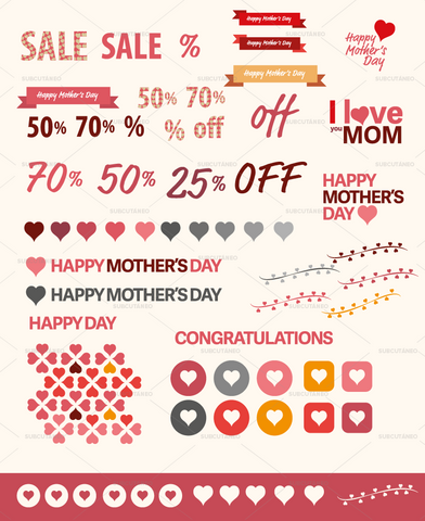 [VECTOR] Mother's Day assets