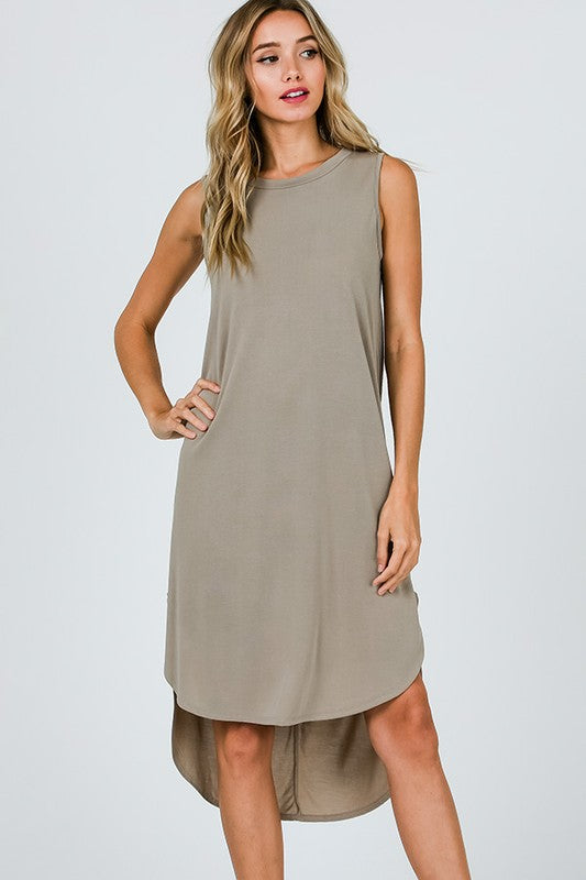 Endless Summer Dress in Taupe